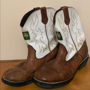 JOHN DEERE youth sz 5.5 boots
